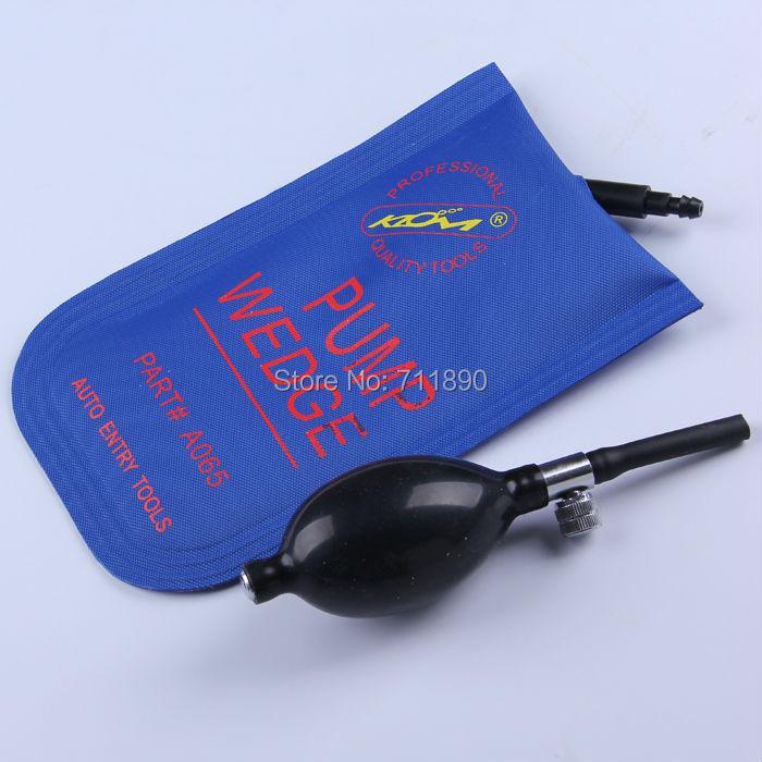 blue color small size car use klom air inflation pump wedge - FUJIAN Wenfu key Machinery Co.,ltd store