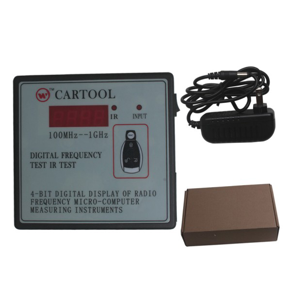 Car IR Infrared Remote Key Frequency Tester (Frequency Range 100-1000MHZ)(China (Mainland))