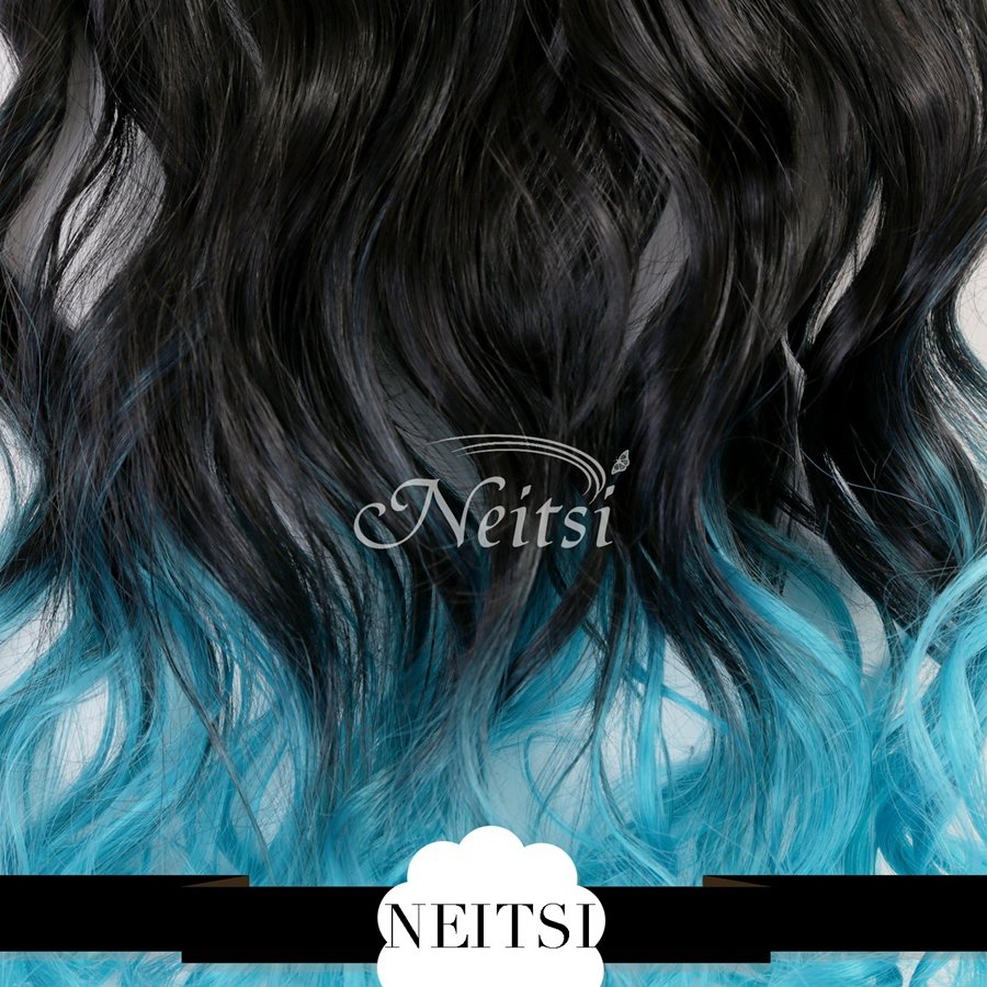Curly Synthetic Hair Extensions Clip in Hair Extensions Curly Hair