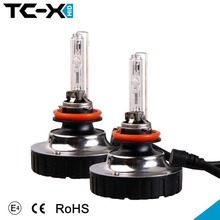 1 Pair Super Bright Auto All in One HID Xenon Conversion Kit H11 H8 H9 Replacement Bulbs 6000K Diamond Upgraded Lights for Cars(China (Mainland))