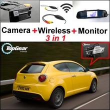 Buy 3in1 Special WiFi Camera + Wireless Receiver + Mirror Monitor EASY DIY Parking System Alfa Romeo MiTo AR Furiosa 2007~Onwork for $73.27 in AliExpress store