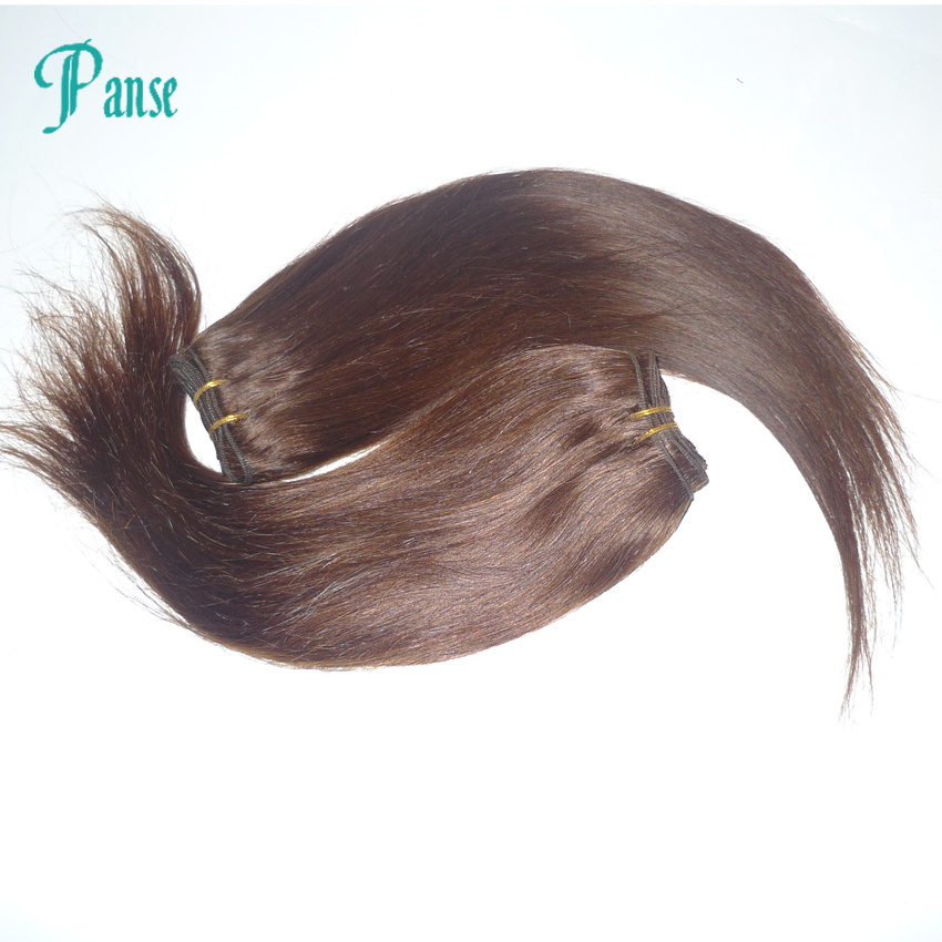 cheap 6a virgin hair bundles brown straight human hair weaves 4pcs lot remy #2 middles brown color fashion and beauty(China (Mainland))