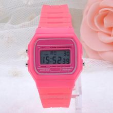 Led wristwatches Men Women silicone Digital watches 2015 Hot Sale Fashion Casual Jelly Clock J 60CMHM105