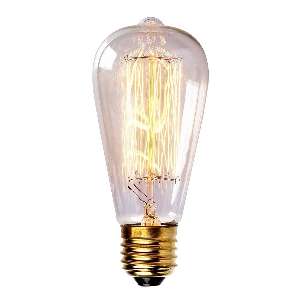 Vintage Edison Incandescent Light Bulb Retro Edison Filament Lamp Bulb E27 110V 220V Miniature Antique Bulb Edison Bombilla(China (Mainland))