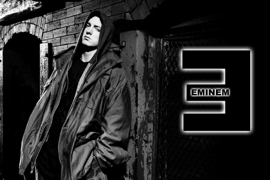 2016 Sale Hot Sale Rectangle Wall Art Painting Eminem Slim Shady - Rap King Music Fabric Posters And Prints For Gift Trry085(China (Mainland))
