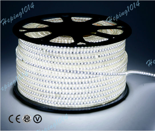 Free Shipping 11 meter led strip 3014led 1320pcs LED +power plug (Connector) 120LED/METER  EU plug 5M 5METER 600LED WHITE LIGHT <br><br>Aliexpress