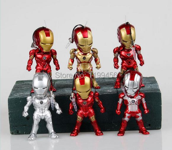 figurine iron man led