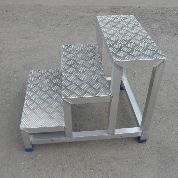 Car Wash Station Aluminum Alloy Ladder Aluminum Step
