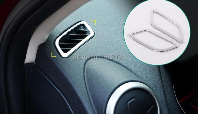 buy auto interior air conditioning vent trims for nissan qashqai 2010 2013. Black Bedroom Furniture Sets. Home Design Ideas