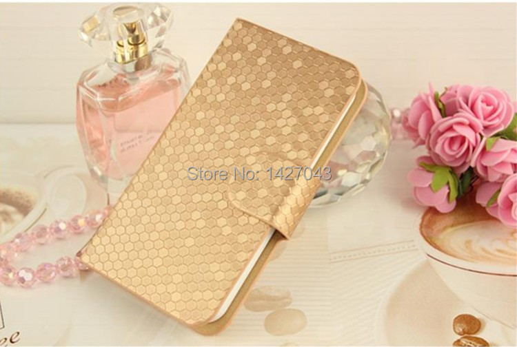 6 colors Top Quality diamond Leather Case For Samsung Galaxy Express 2 G3815 Win Pro G3812 G3818 Flip cover Cell Phone Case(China (Mainland))