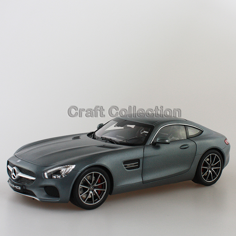 * Gray 1/18 Scale AMG GT S C190 Sport Car Coupe Collection Diecast Model Car Luxury Race Vehicle(China (Mainland))