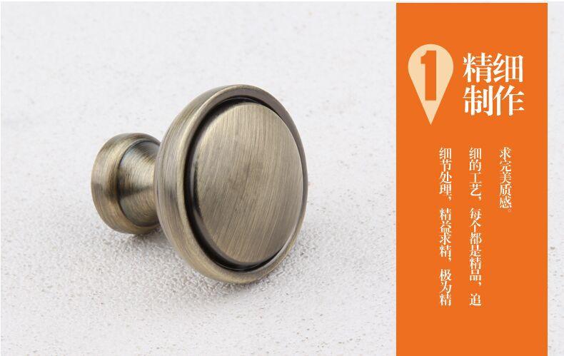 Bronze drawer  red bronze kitchen cabinet handle knob antique brass dresser cupboard door  antique copper furniture knobs