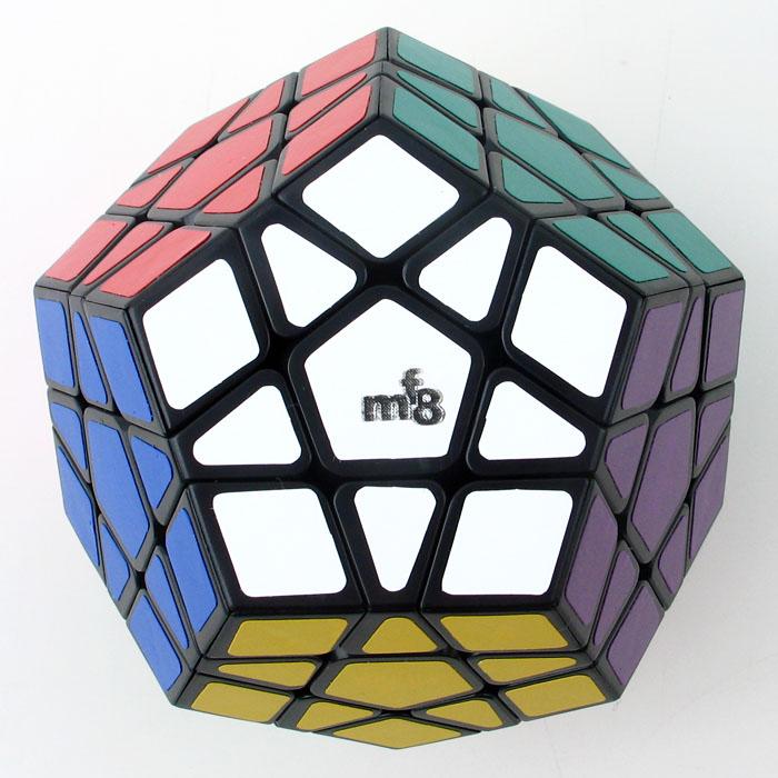 Speed Demon Cube Store] MF8 Megaminx Speed Cube - Black V3 Magic Cube Puzzle(China (Mainland))
