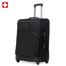 Swisswin mens travel luggage set 20 24 28 inch black waterproof businesssuit case sw9707 brand new 2015 free shipping(China (Mainland))