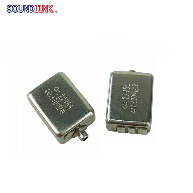Бесплатная Доставка! 2 шт./лот ноулз CI-22955 перемещение утюг блок средних и низких частот для в ухо монитор DIY предпочтительный вариант