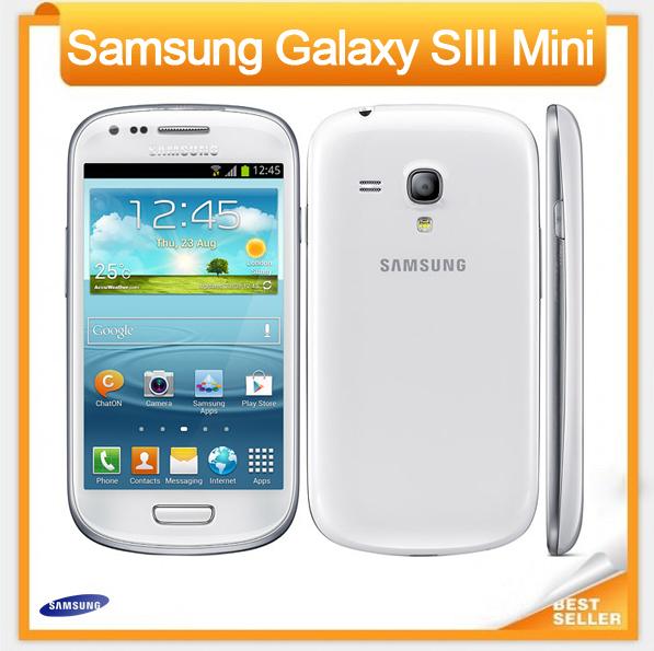 "I8190 Original Samsung Galaxy S3 mini Phone Dual-core 4.0""Touch 5MP Camera 8GB ROM 3G WIFI GPS Unlocked Refurbished Mobile phone(China (Mainland))"