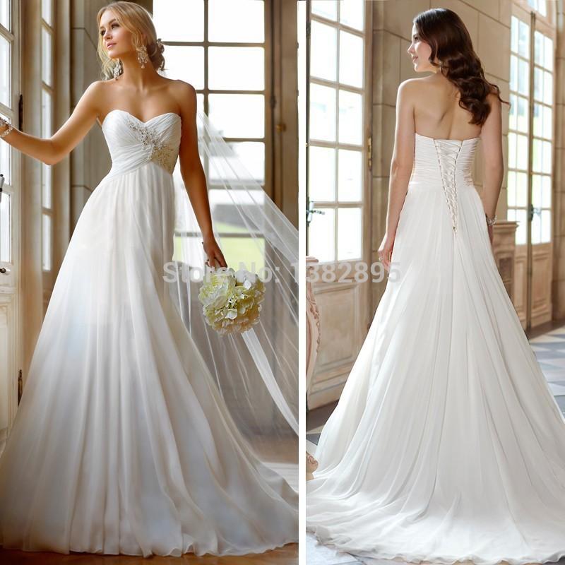 New unique sexy beach bohemian wedding dress 2015 best for Unique bohemian wedding dresses