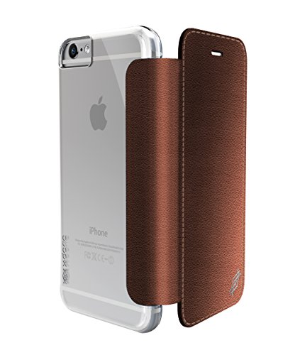 For iPhone 6s/6 Plus X-Doria Engage Folio Lux, PU Leather/Polycarbonate Wallet Cover Capinha Case Coque(China (Mainland))