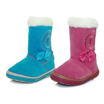 2015 детей зимние сапоги теплые дети ребенок кожу сапоги свободного покроя для девочек марка девушки снега сапоги обувь для девочек CCS24