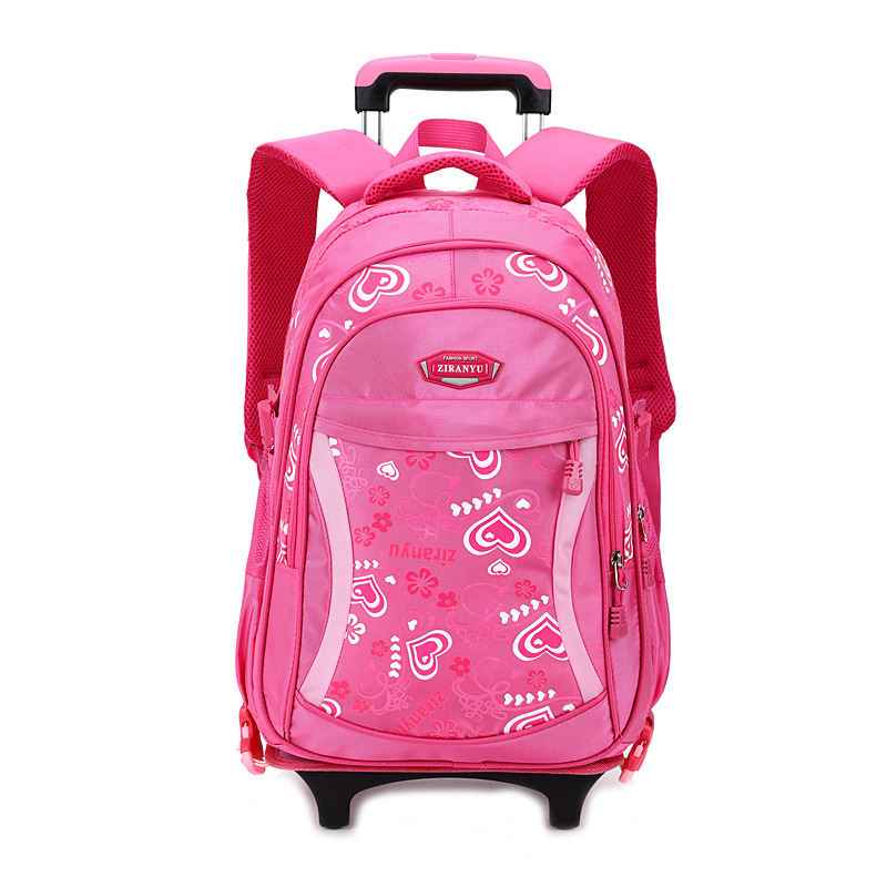 Authentic trolley bags primary school students children boys girls Korean version detachable bolsos - Bag's Heaven store
