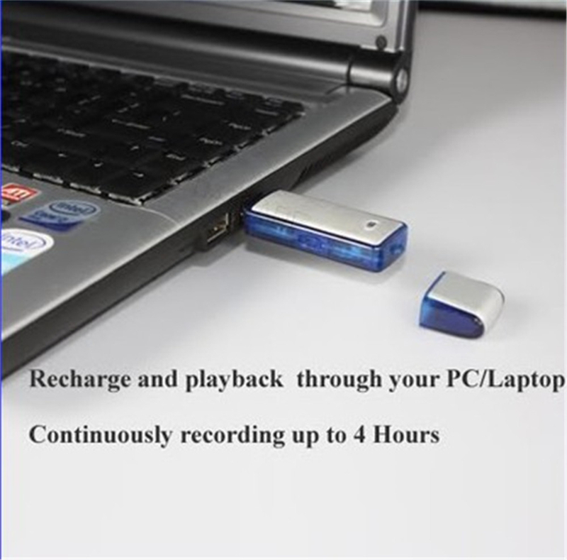 Free Shipping 8G Mini Dictaphone USB FLASH Function, Hidden Recorder Voice Recorder Free Shipping(China (Mainland))