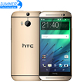 Original Unlocked HTC One M8 Cell phones 5'' Quad Core 16GB 32GB ROM WCDMA LTE Refurbished phone 2 Cameras Android Mobile Phone