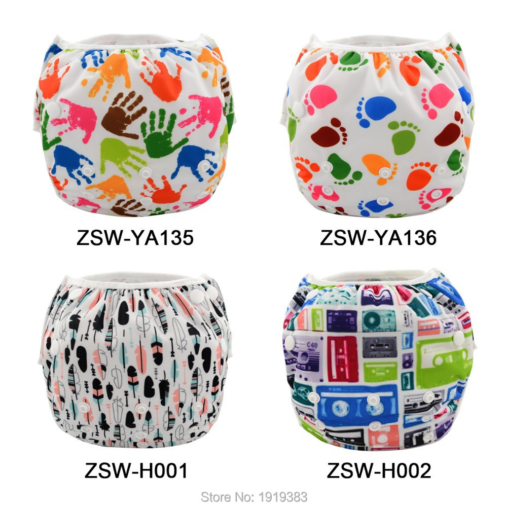 New Fashional 30pcs Modern One Size Reusable Baby Swimsuits Swimming Diaper Factory<br>