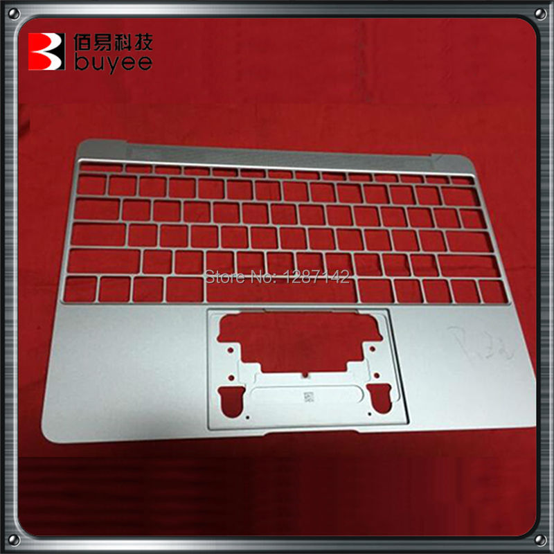 2015 Original new For New Macbook Air 12 A1534 Silver Color Top Case<br><br>Aliexpress