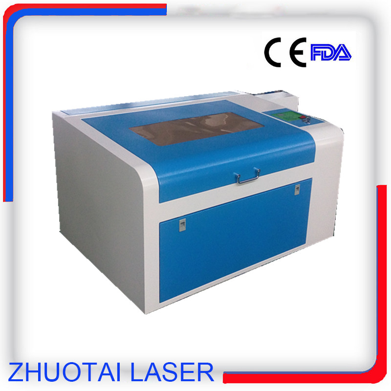 600mmx400mm,80w laser tube laser cutter ZT-460 for 8mm plywood(China (Mainland))