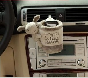 Fashion cute series car outlet shelf storage cylinder / cylinder free mobile phone(China (Mainland))