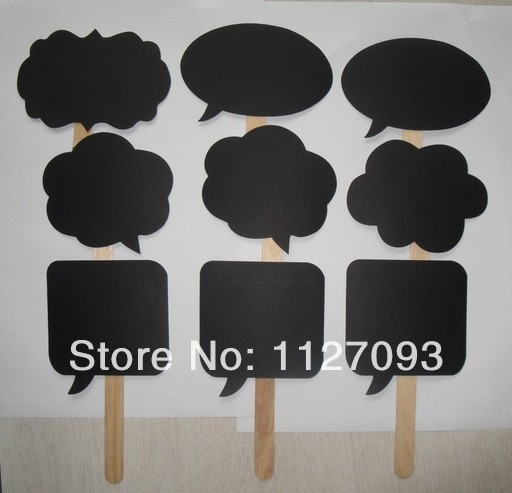 New Product ! Wedding ideas photo MINI CHALKBOARD SIGNS with SKEWERS Wedding Birthday Party Favor(China (Mainland))