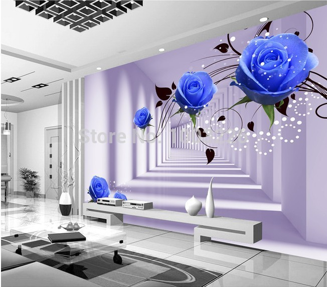Moderne Tapete F?r Wohnzimmer : abstrakte moderne Foto Tapete Wandbild f?r Wohnzimmer