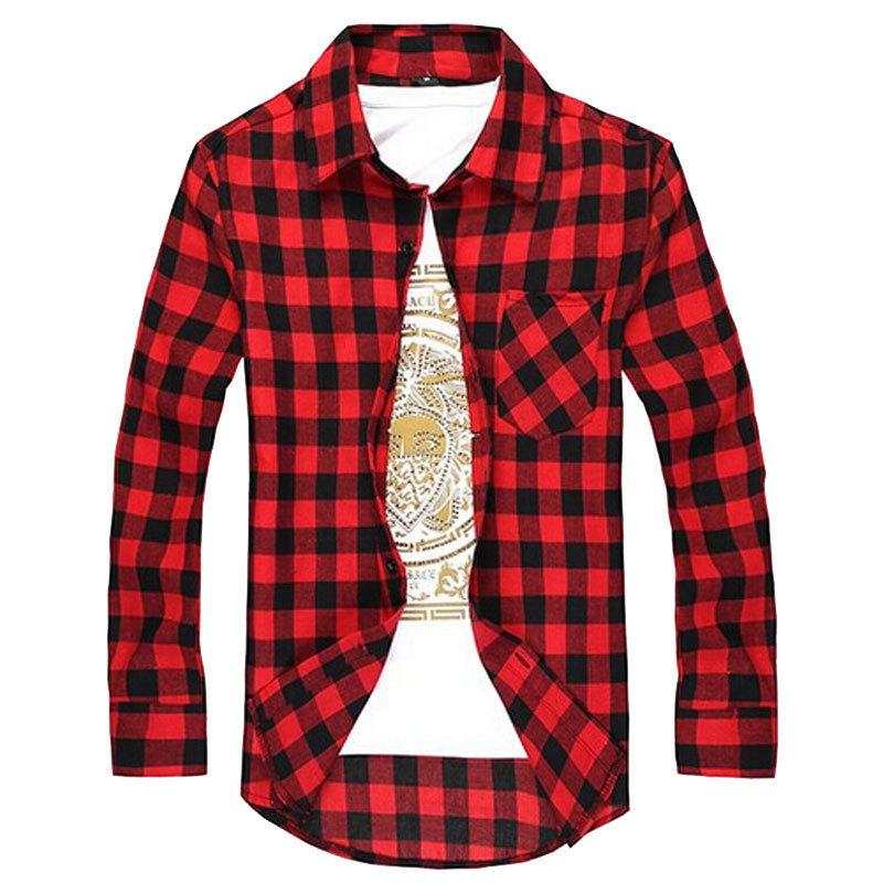 Purple Check Shirt Reviews Online Shopping Purple Check