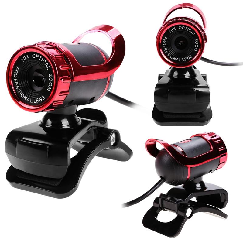 KMAX HD Webcam USB Camera Web Cam Camera Built-in MIC 10X Optical Zoom Lens Manual Focus web cam for Computer PC Laptop Desktop(China (Mainland))
