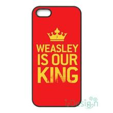Fit for iPhone 4 4s 5 5s 5c se 6 6s 7 plus ipod touch 4/5/6 back cellphone case cover Harry Potter Hogwarts WEASLEY IS OUR KING