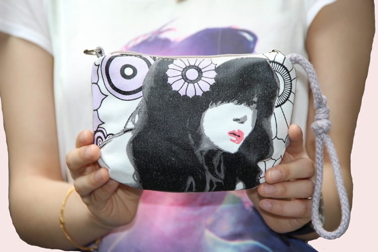 Free Shipping ! 14 New Hot Sale cute canvas bag shoulder carry bags nation trend bag holder(China (Mainland))