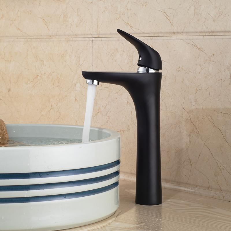 Deck Mount Countertop Basin Vessel Sink Mixer Taps