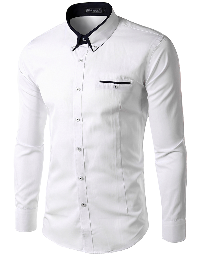 Camisa social masculina atacado camisa social masculina for Mens formal white shirts