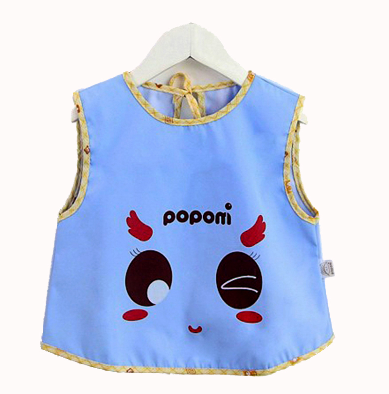 Apron for kids feeding art smocks kid child silicone bib baby boy girl waterproof bibs for infant babies Chest feeding apron(China (Mainland))