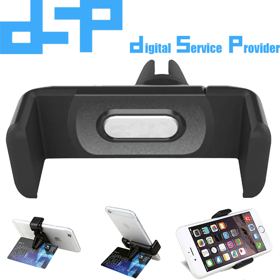 DSP 1pc Universal Car Holder Air Vent Mount for Samsung Stand Support For Iphone 6 Plus 5S Phone Holder GPS Movil Suporte(China (Mainland))