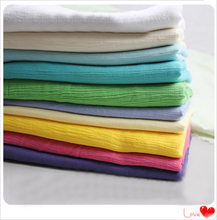 wholeale ethnic crinkled cotton crepe fabric curtains dress shirts cloth solid cotton wrinkled material(China (Mainland))