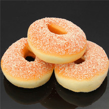 Squishy Doughnuts Decor Bread Breadcrumb Scented Food Simulation Toy Gift(China (Mainland))