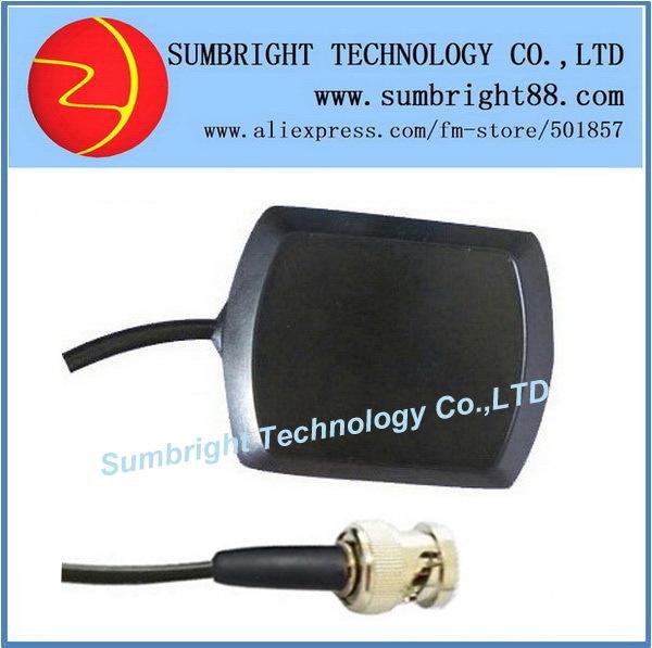 SB-CA119-BNC-5M 50pcs*Patch Waterproof 1575.42MHz Active Car Gain Magnetic Mount GPS Tracker External China Antenna With BNC(Hong Kong)