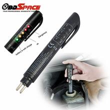 2017 New Brake Fluid Tester Pen 5 LED Mini Indicator For Car Repairs Tools Vehicle Auto Automotive Diagnostic Tool Brake Tester(Hong Kong)