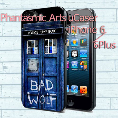 1PC Tardis Doctor Who Bad Wolf Case For IPhone 4s 5s 5c 6/6plus iPod 5 Samsung s3 s4 s5 s6 edge mini Note 2 3 4 for LG 2 3 case(China (Mainland))