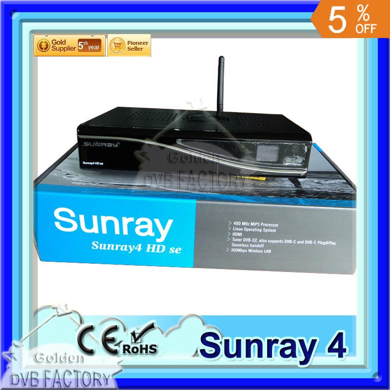 3 pcs/lot Satellite TV Receiver Sunray4 800hd se sr4 Triple tuner sim A8P Sim Card 300M WIFI (3pcs SR4 A8P)(China (Mainland))