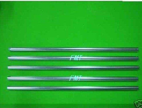 F00217-5 5pcs Aluminum Silver Tail boom,TREX 450 SE/V2 + FS