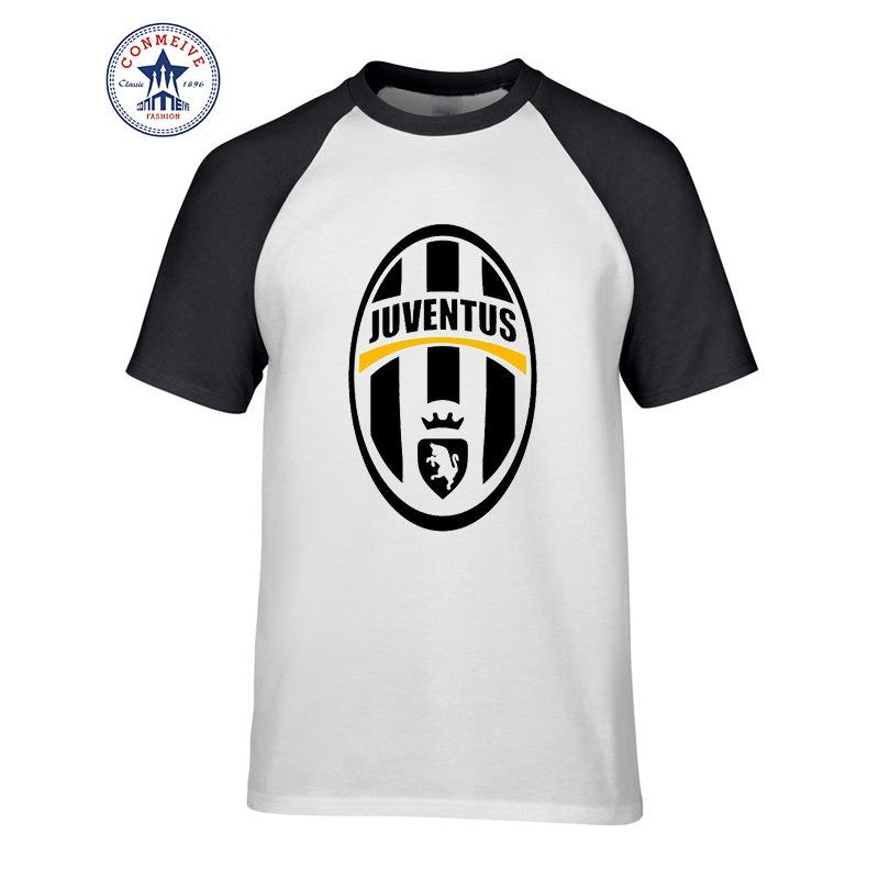 2017 Fashion Summer Style Juventus Fashion Male Cotton Funny T Shirt for men(China (Mainland))