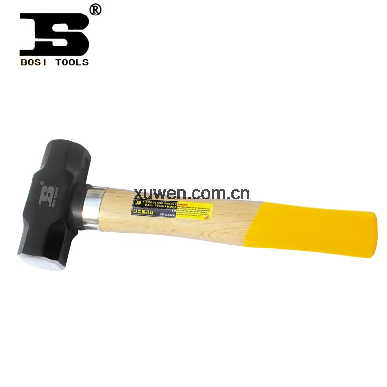 Tool 2LB Sledge Hammer with Double Color Beech Wood Handle(China (Mainland))