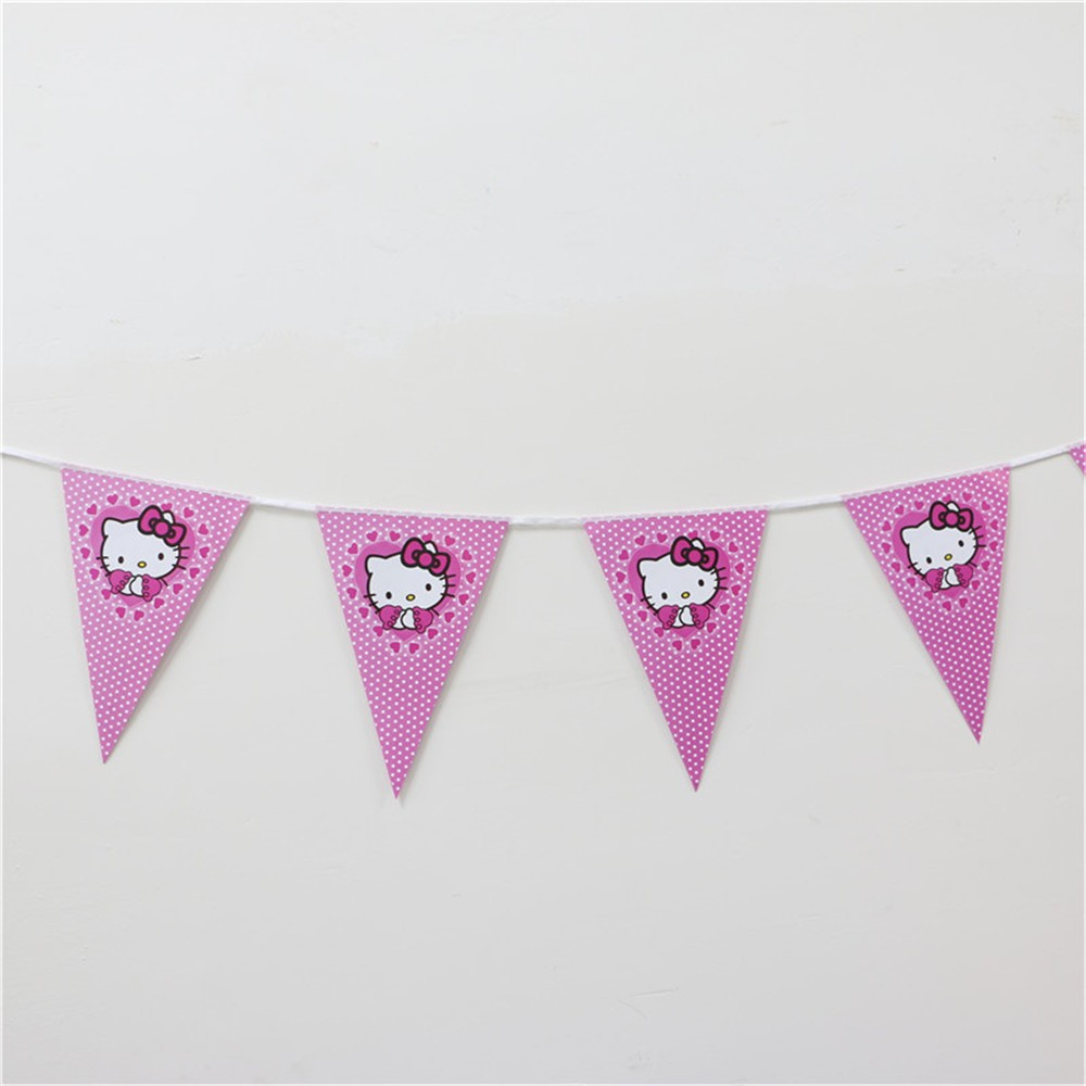 1pcs-Cartoon-Theme-Paper-Flag-Favors-For-Kids-Girls-Birthday-Decoration-Party-Banner-Bunting-Event-Party (1)